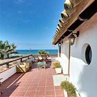 Holiday penthouse on the beach of Zahora , Canos de Meca