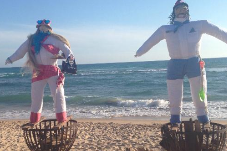 Vente a celebrar la noche más mágica del año a Sajorami Beach